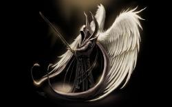 Fantasy Archangel Art