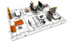 3D Architectural Design Wallpaper (2) #3 - 1920x1080.