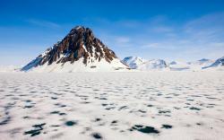 Extraordinary Arctic landscape
