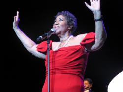 It's not Aretha Franklin's birthday until Wednesday, but she's been celebrating in style. Last night at the Ritz Carlton the Queen of Soul had the hottest ...