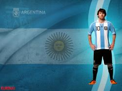 L. MESSI / ARGENTINA Wallpaper by KURENAI
