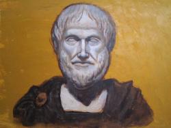 Casein-Tempera Test: Aristotle