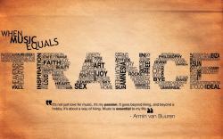 Armin van buuren trance quote