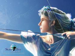 ... Art by KAGAYA Starry Tales Artemis 3