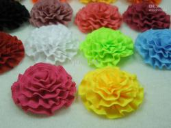 ... wholesale--colorful artificial flowers headbands silk satin ribbon flowers ...