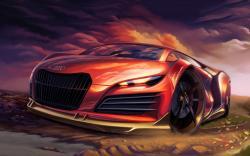 Audi digital art