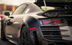 Audi r8 black modified