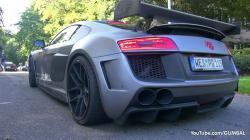 Audi R8 PD GT850 Prior Design - Start up + Acceleration Sounds!