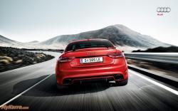 Audi RS5 Wallpaper Heckansicht