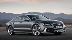 2014 Audi RS7 Sportback Daytona Grey Matt - Front Wallpaper