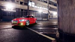 Audi TT Coupe Lights Red Car