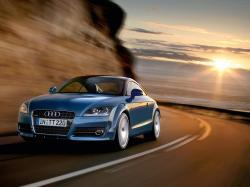 Blue Audi Wallpaper
