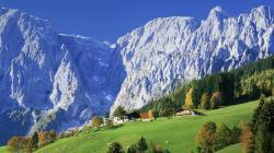 Hd Stuning Scenery in Austrian Alps Wallpaper Download Free