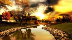 Autumn River Wallpaper 17773