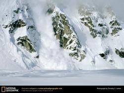 Avalanche, Rock Mountain Face, ...