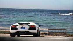 Aventador coast Wallpaper in 2560x1440 HD Resolutions