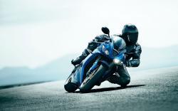 Amazing Blue Bike Wallpaper 33234