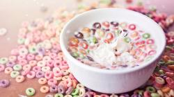 Awesome Cereal Bowl Wallpaper