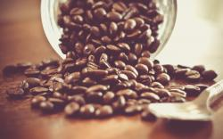 Awesome Coffee Grains Wallpaper