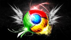 Artistic Google Chrome Wallpaper