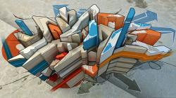 Awesome Graffiti Art Desktop Wallpaper