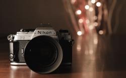 Nikon Old SLR Camera Photo HD Wallpaper