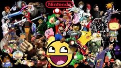 nintendo awesome face