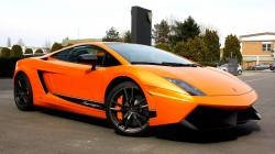 lamborghini cars orange vehicles best widescreen background awesome