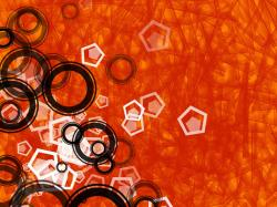 This awesome image is our wallpaper of the day! enjoy it!! orange 3d
