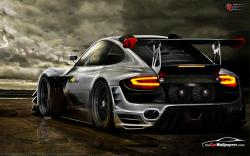 An awesome image of Porsche 911