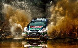 Rally Car Wallpaper