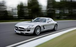 3840x2400 Wallpaper mercedes benz, sls, awesome, speed, blur