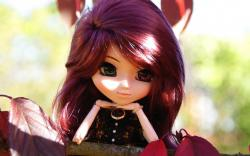 Awesome Toy Doll Wallpaper