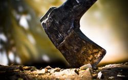 Ax wood