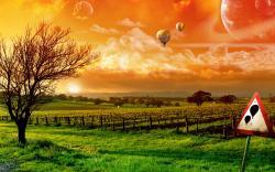 Balloon Trip Art