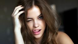 barbara palvin, earrings, funny face, modeling talent