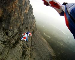 Base Jumping Hd Wallpaper 3364