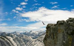 Canyon base jump Wallpapers Pictures Photos Images. «