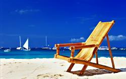 Beach Bamboo Chair