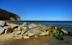 Beach Rocks Wallpaper