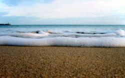 Beach wallpaper sand sea ocean