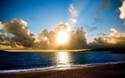 View and Download Sunrise Beach Wallpaper ...