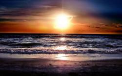 Beach Sunset 20963 Hd Wallpapers