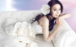Beautiful Asian Girl Dress Fashion