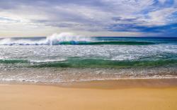 Beautiful Beach Waves