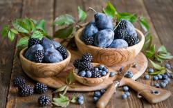 Beautiful Blackberries Wallpaper