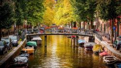 Amsterdam Canal Wallpaper