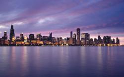 Beautiful Chicago Background