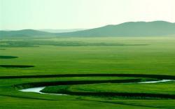 Beautiful prairie scenery wallpaper