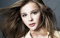 Beautiful Chloe Grace Moretz Blonde Actress Blue Eyes HD Wallpaper